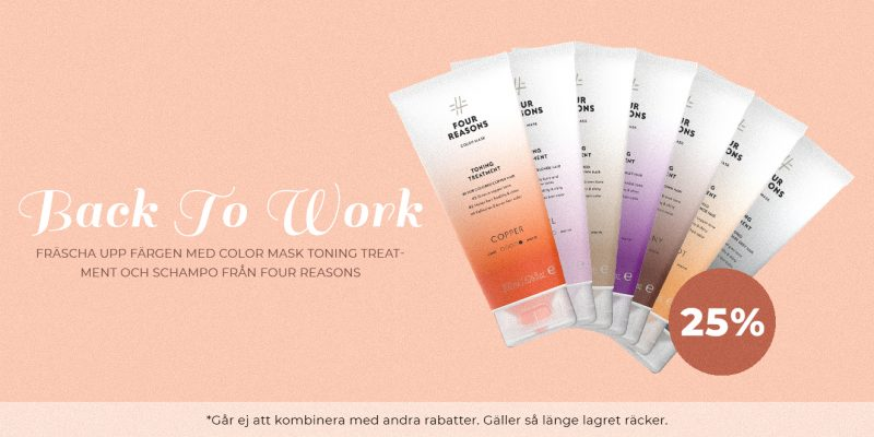 Four Reasons Color Mask Toning Treatment and schampo